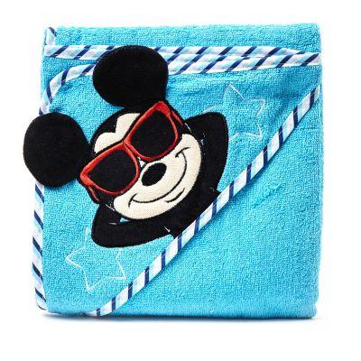 Toalla azul Mickey Disney
