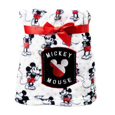Frazada de bebé Mickey blanca y roja Disney