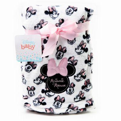 Frazada de bebé negro con blanco Disney
