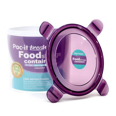 Envase de plástico cilíndrico Pac-it Fresh