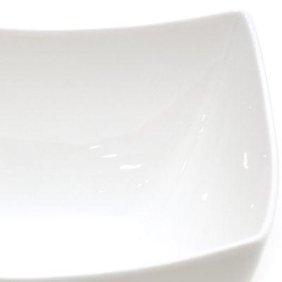 Plato de cerámica cuadrado