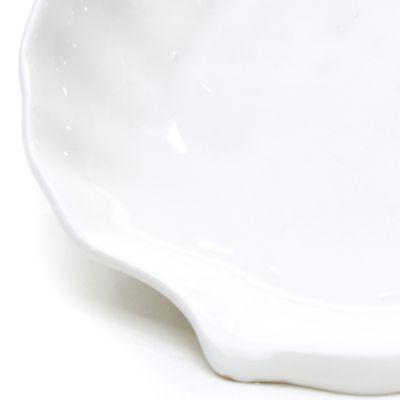 Plato de cerámica forma de concha