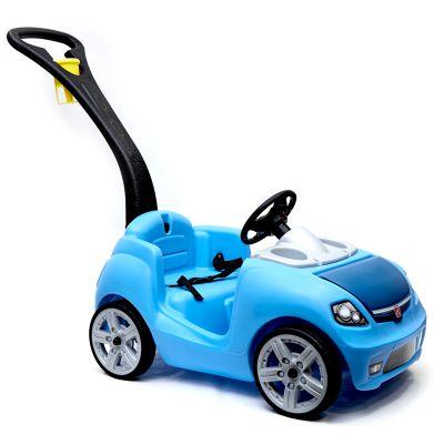 Coche buggy cruiser azul para empujar