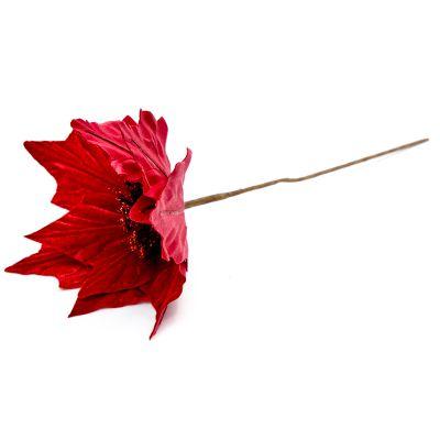 Flor navidad roja 30 cm