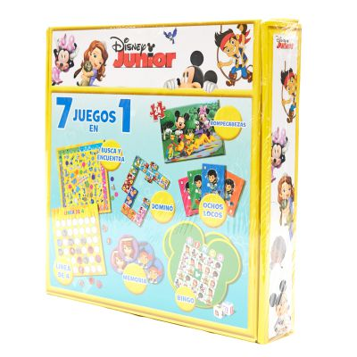 Juego de mesa Disney Junior 7 en 1