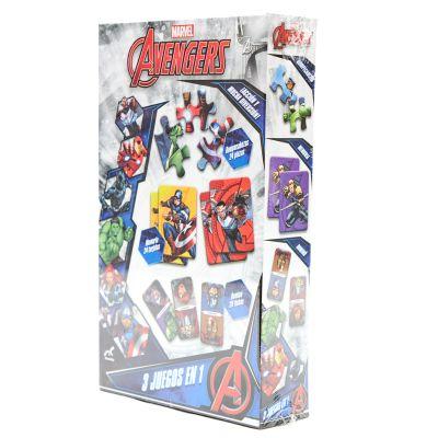 Juego de mesa Avengers 3 en 1