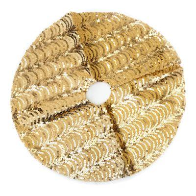 Falda dorada de arbolito 50 cm
