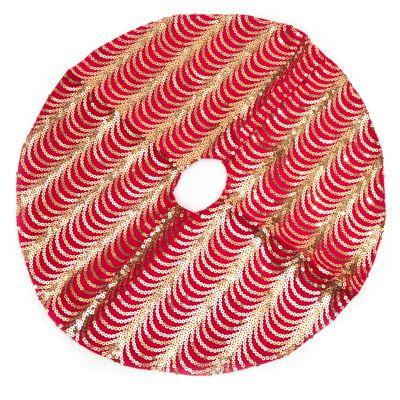 Falda roja de arbolito 50 cm