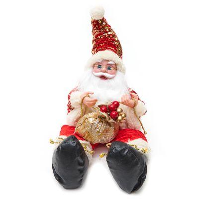 Adorno de Santa Claus rojo 27cm