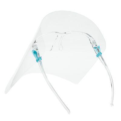 Protector facial tipo lentes