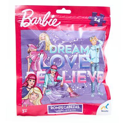 Juego de mesa rompecabezas Barbie