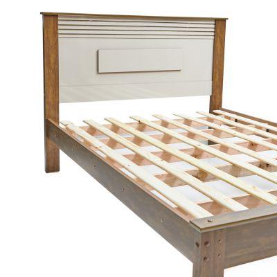 Cama de madera twin