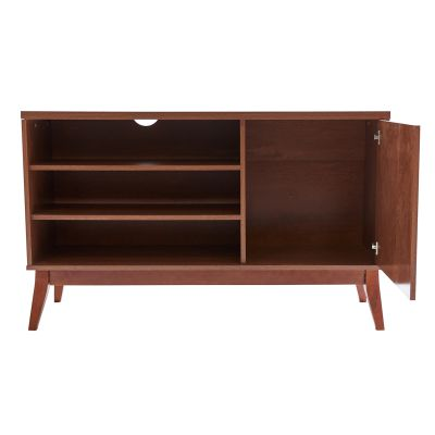 Mueble de entretenimiento estilo nórdico color chocolate