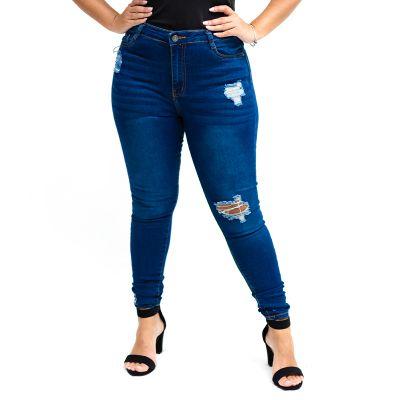 Jeans de Dama con tiro alto