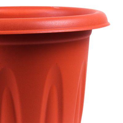 Macetero plástico circular