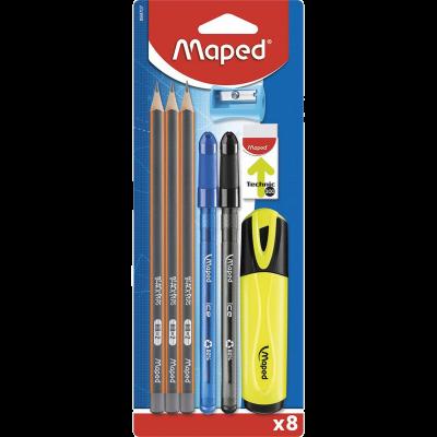 Set 8 piezas Maped