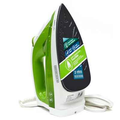 Plancha a vapor Black & Decker Light n Easy Verde