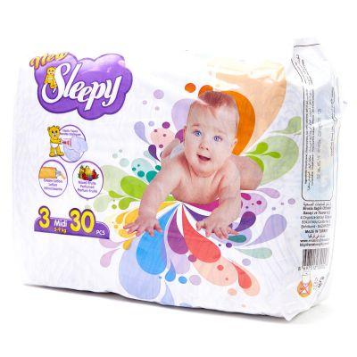 Pañales Des De Bebé Midy Sleepy 30 piezas