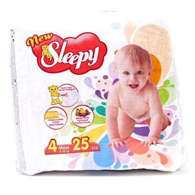 Pañales Des De Bebé Maxy Sleepy 25 piezas