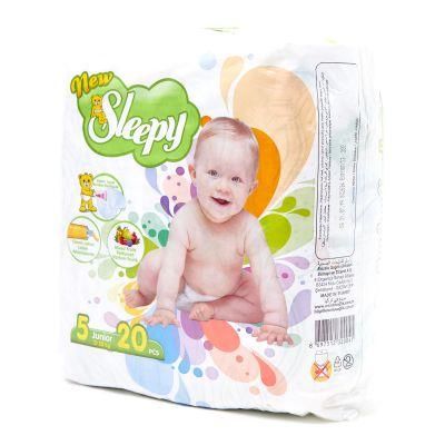Pañales Des De bebé Junior Sleepy 20 piezas