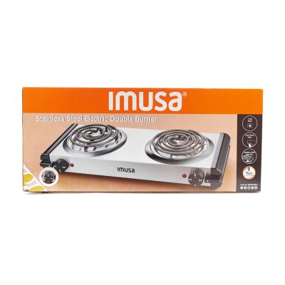 Estufa eléctrica con doble quemador IMUSA